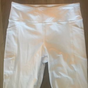 New forever 21 white legging xs